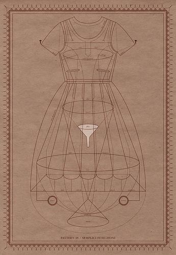 paper-dress 28 semplici istruzioni